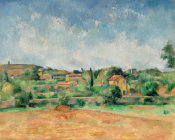 Paul Cézanne - The Bellevue Plain, also called The Red Earth (La Plaine de Bellevue, dit aussi Les Terres Rouges), 1890-1892