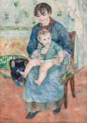 Pierre-Auguste Renoir - Young Mother (Jeune mère), 1881 height=