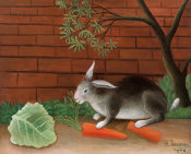 Henri Rousseau - The Rabbit's Meal, 1908 height=