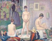 Georges Seurat - Models (Poseuses), 1886-1888 height=