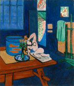 Henri Matisse - Studio with Goldfish (L'Atelier aux poissons rouges), 1912