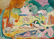 Henri Matisse - Le Bonheur de vivre, also called The Joy of Life, 1905-1906