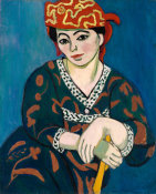 Henri Matisse - Red Madras Headdress (Le Madras rouge), 1907