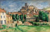 Paul Cézanne - Gardanne (Horizontal View), c. 1885