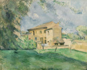 Paul Cézanne - The Farm at the Jas de Bouffan (La Ferme au Jas de Bouffan), c. 1887