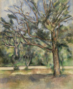 Paul Cézanne - Trees and Road (Arbres et route), c. 1890