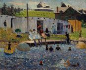 William James Glackens - The Bathing Hour, Chester, Nova Scotia, 1910