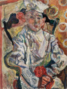Chaim Soutine - The Pastry Chef (Baker Boy) (Le Pâtissier), c. 1919