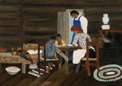 Horace Pippin - Giving Thanks, 1942