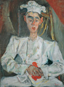 Chaïm Soutine - The Little Pastry Cook, 1922–23