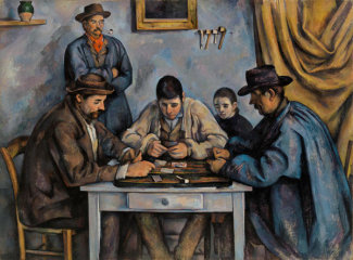 Paul Cézanne - The Card Players (Les Joueurs de cartes), 1890-1892