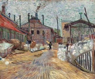 Vincent van Gogh - The Factory, July-September 1887