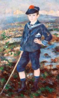 Pierre-Auguste Renoir - Sailor Boy (Portrait of Robert Nunès), 1883