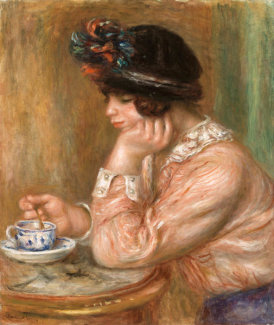 Pierre-Auguste Renoir - Cup of Chocolate (La Tasse de chocolat), c. 1914