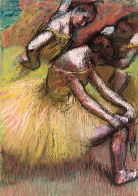 Edgar Degas - Group of Dancers, c. 1900