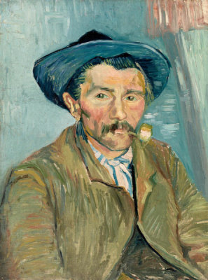 Vincent van Gogh - The Smoker (Le Fumeur), 1888