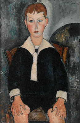 Amedeo Modigliani - Boy in Sailor Suit, 1917