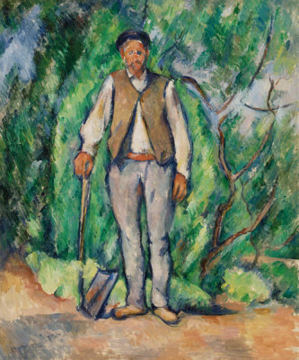 Paul Cézanne - Gardener (Le Jardinier), c. 1885 (possibly later)