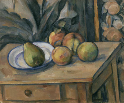 Paul Cézanne - The Large Pear (La Grosse poire), 1895-1898