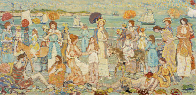 Maurice Brazil Prendergast - The Beach