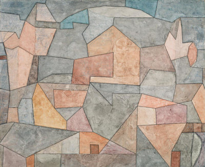 Paul Klee - Village Among Rocks (Ort in Felsen), 1932