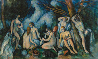 Paul Cezanne - The Large Bathers (Les Grandes baigneuses), 1895-1906