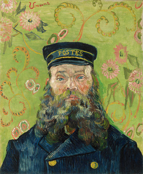 The Postman (Joseph-Étienne Roulin), 1889 by Vincent van